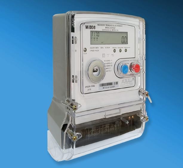 Medidor Electrónico Trifasico Midde