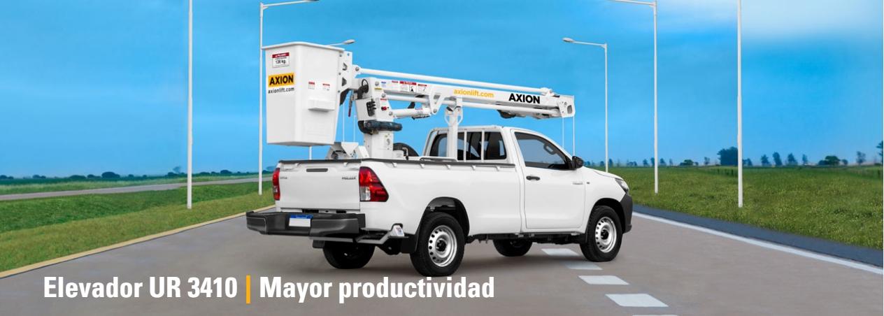 Elevador Hidráulico Axion UR3410
