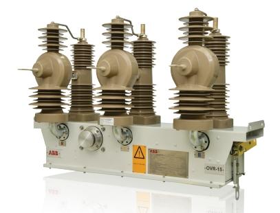 Reconectador automático trifásico 15kV ABB